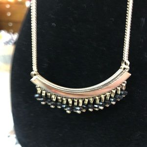 Paparazzi Faux Gold/Black Necklace/Earrings NWT